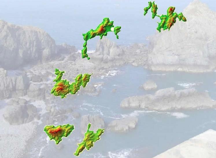 連江縣地圖