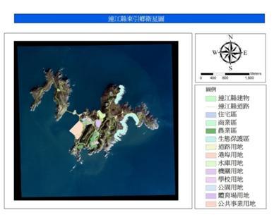 東引鄉衛星地圖
