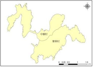 東引鄉村落分佈圖